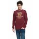 Sweatshirt VARSITY - VARSITY ORIGINAL - Bordeaux