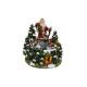 Music Box Ballando Weihnachtsfigur di poli, B15 x