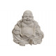 Buddha in grigio, magnesia, B35 x T30 x H32 cm