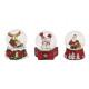palla di neve Decorazioni di Natale di poli, assor