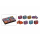 scatole di gioielli orientali in legno, 12x assort