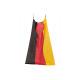 Poncho Germania bandiera da poliestere, B80 x H12
