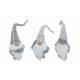Imp bianco / grigio peluche / tessile, sortie 3 vo