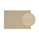Tovaglietta in plastica beige, B45 x H30 cm