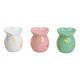 Aroma lamp heart bianco, rosa, verde multi colore