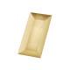 vassoio d'oro in plastica, B24 x H12 cm