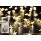 Catena leggera 80 stelle LED, indoor / outdoor, 40