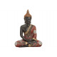 Buddha Poli 21x12x28 cm nero / rosso / oro
