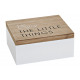 Storage Box Little Things made of wood, B22 x T18