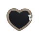 Boards Memo cuore di legno per appendere con 2 CUO