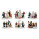Figure in miniatura di Natale di poli, B8 x T4 x H