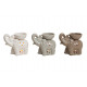 Ceramic assorted, lamp, 3-way assorted, B1