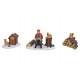 Miniatűr karácsonyi ÁBRÁK POLY 3-WAY szortírozott