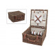 Picnic basket for 2 persons from pasture, 12-piece