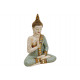 Buddha seduto di poli, B19 x H29 cm x T10