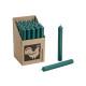 Stabkerze Colore: verde scuro (B / H / T) 2x18x2cm