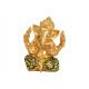 Ganesha poli-aranyból (szélesség / méret) 13x17x11