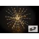 Lichten takken bal 160's LED plastic lettergre