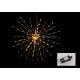 Light ágak golyó 160er LED műanyag arany