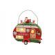 Buon Natale caravan con luci a led spente