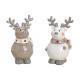 Elk ceramic gray, white 2- times assorted , (B / H