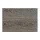 plastica grigia Platzset imitazione legno scuro, B