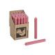 Candela bar Colore: rosa antico (B / H / D) 2x18x2