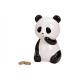 Salvadanaio in ceramica Panda Bear bianco, nero (B
