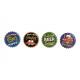 Magnet Beer Motif Ceramica volte assortito Color 4