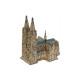 Chiesa cattedrale fatta di porcellana, B26 x T18 x
