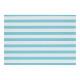 Tovaglietta TURQUOISE / a righe bianche 43x30 PLAS