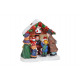 Miniatűr Christmas számadatok állvány poli, B6 X T