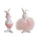 Bunny Girl, Boy Poly Pink / Rózsaszín 2-szeres sor