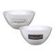 Muesli bowl favorite porcelain white 2-f