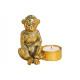 Tealight porta scimmia poly poly (B / H / T) 10x10