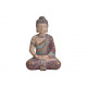 Buddha realizzato in poli colorato, glitter oro (B