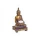 Teelichthalter Buddha készült többszínű arany csil