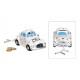 Money Box Car, Just Married Ceramic White (B / H /