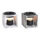 Lampe Aroma aspect marbre en céramique Gris, noir