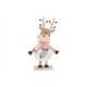 Espositore Moose, Buon Natale in legno, Kunstfe