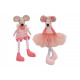Edge Stool Maus aus Textil Pink / Pink kétszeres f