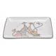 piatti Rettangolo decorativo per famiglia di gatto