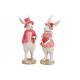 Coniglietto uomo e donna realizzato in polietilene