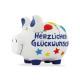 Savingsbox KCG Mittelschwein, Herzlichen Glückwuns