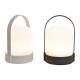 Lampada da tavolo, 4 LED, bianco caldo, in plastic