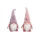 Wichtel aus Textil Pink/Rosa 2-fach sortiert, (B/H