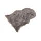 Pelliccia sintetica grigia (L / A) 90x60 cm