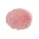 Imbottitura sedile in ecopelliccia rosa / rosa Ø34