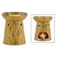 Lampada profumata in ceramica oro (L / H / P) 10x1