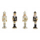 Nutcracker made of poly white, black 4- times asso